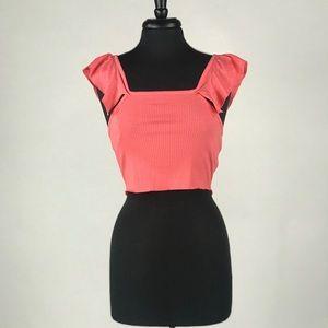 NWT Zara Off Shoulder Crop